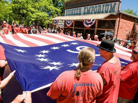 """""""Glorious 4th of July Celebration"""" in Columbia"""