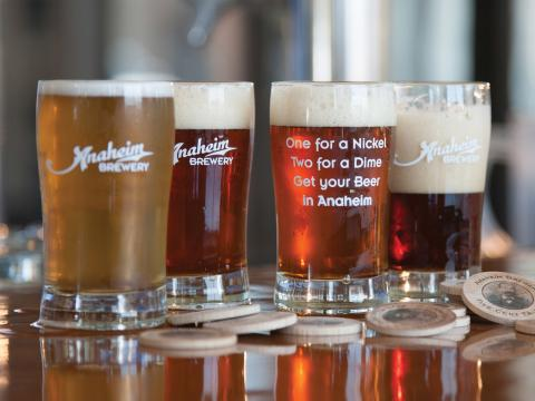 """Craft-Bier ist auf dem Gourmetfestival """"Taste of Anaheim"""" überaus beliebt."""