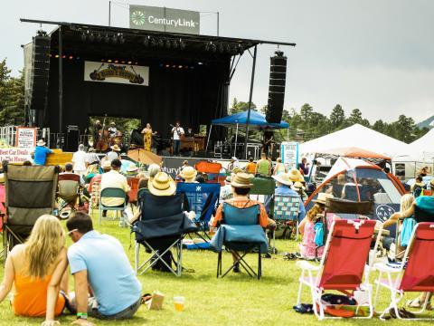 Livemusik auf dem Blues& Brews Festival
