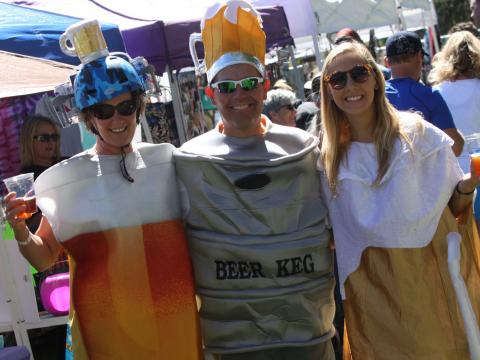 Gute Laune beim Flagstaff Oktoberfest