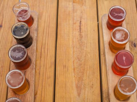 Bierspezialitäten während der Beer Week