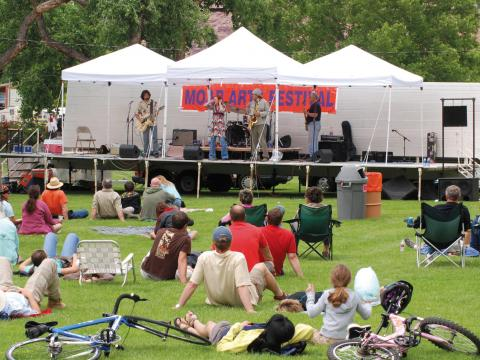 Livemusik beim Moab Arts Festival
