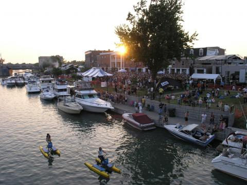 Canal Fest of the Tonawandas: Spaß am und auf dem Wasser