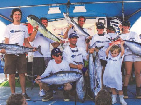 Der Fang des Tages beim Pompano Beach Fishing Rodeo