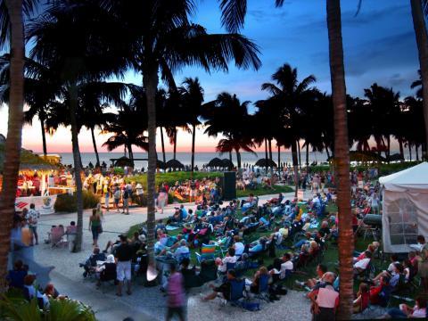 Konzertreihe SummerJazz on the Gulf in Naples, Florida