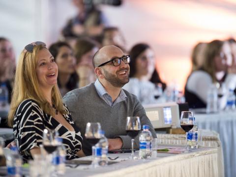 Weinverkostung und -seminar bei der Kohler Food & Wine Experience