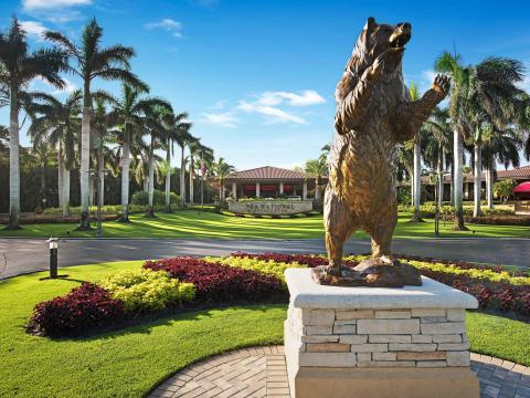 Der PGA National Golf Club, Heimat des Honda Classic, in Palm Beach Gardens, Florida