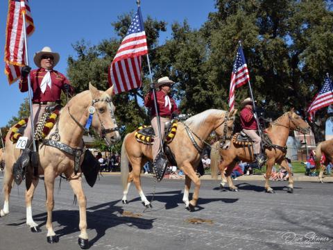Parade zum Pioneer Day in Paso Robles, Kalifornien