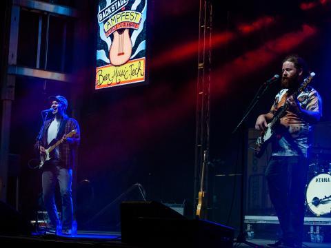 Konzert im Rahmen des AMP Fests am Walmart AMP (Arkansas Music Pavilion) in Rogers